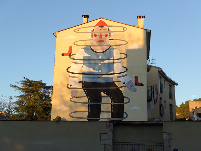 Mural girona blog de la catalogne en fran ais for Mural en francais